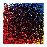Transitions CMY - Linosnede 30 x 30 cm - 2011 - Hennie van Ham