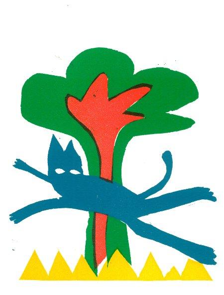 de blauwe kat [450]